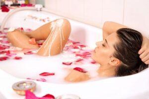 Ароматические молочные ванны