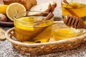 Корица, мед, вода
